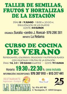 Curso de cocina vegetariana de verano (martes 16, 23 y 30)