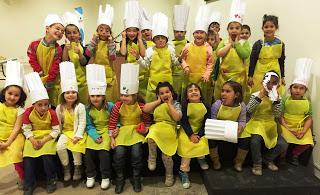 EJEA DE LOS CABALLEROS. Taller Master chef junior (miércoles de agosto)