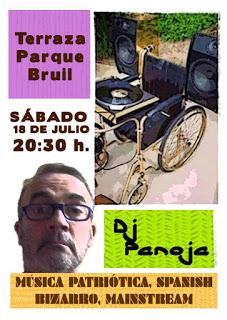 Dj Panoja en Parque Bruil (sábado, 18)