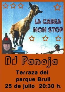 Dj Panoja en Parque Bruil (sábado, 25)