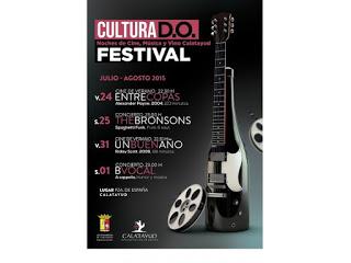 CALATAYUD. Festival cultura DO (días 24 y 25, 31 y 1 de agosto)
