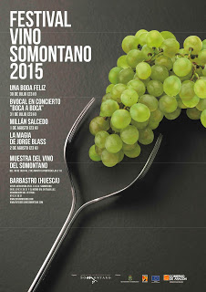 Festival Vino Somontano 2015 (del 30 de julio al 2 de agosto)