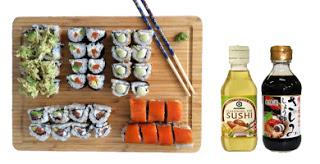 Taller de sushi para niños (lunes, 27)
