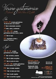 CASTIELLO DE JACA. Verano gastronómico (jueves de julio)