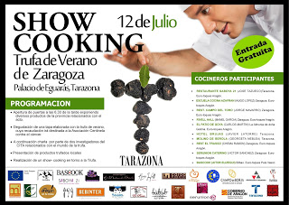TARAZONA. Jornada de presentación de la trufa de verano (domingo, 12)