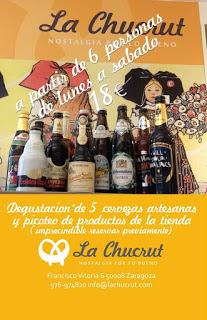 Degustación de cervezas y productos europeos (cualquier fecha)