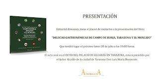 TARAZONA. Presentación de libro (lunes, 20)