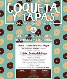 BENABARRE. Fiesta de la coqueta y Tapas Banabarre Sabor (viernes, 28)