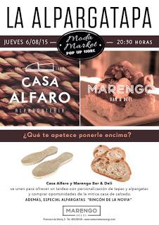 La alpargatapa en Marengo (jueves, 6)