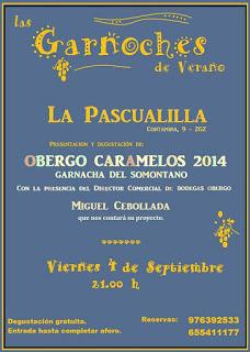 Cata y presentación de vinos (viernes, 4)