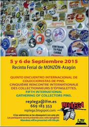 MONZÓN. Replega, feria del coleccionismo (días 5 y 6 de septiembre)