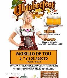 MORILLO DE TOU. Oktoberfest (del 6 al 8)