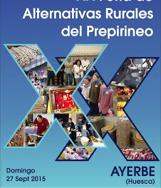 AYERBE. XX Feria de alternativas rurales del Prepirineo (domingo, 27)
