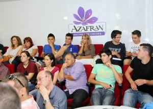 Curso de cocina Tapas, pinchos y canapés en AZAFRÁN (de martes a jueves, del 8 al 10)