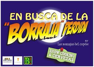 En busca de la borraja perdida. Show cooking+cata de cervezas en LA ZAROLA (viernes, 18)