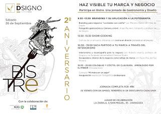 Bistre, celebración segundo aniversario de Dsigno en LA ZAROLA (sábado, 26)