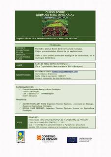 Curso de horticultura ecológica (días 17 y 28)