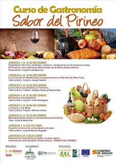 MORILLO DE TOU. Curso de gastronomía Sabor del Pirineo (del 15 de septiembre al 7 de octubre)