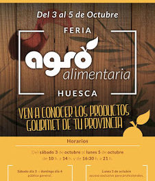 HUESCA. Feria agroalimentaria (del 3 al 5 de octubre)