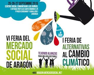 Feria del Mercado Social de Aragón (Del 25 al 27)