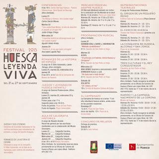 HUESCA. Mercado medieval (del 25 al 27)