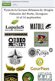 Feria la cerveza artesana de Aragón (del 18 al 20)