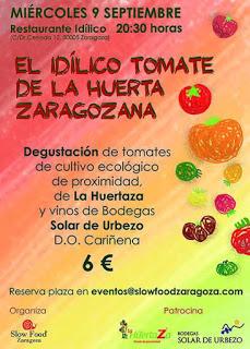 Degustación de tomates en IDÍLICO (miércoles, 9)