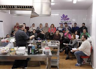 Curso de cocina Miniaturas, chupitos y cucharillas en AZAFRÁN (de martes a jueves, del 29 de septiembre al 1 de octubre)