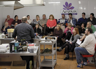 Curso de cocina autor-moderna en AZAFRÁN (de martes a jueves, del 22 al 24)