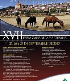ORIHUELA DEL TREMEDAL. Feria ganadera (del 25 al 27)