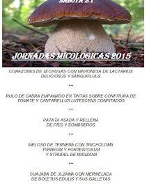 TARAZONA. Jornadas micológicas (octubre)