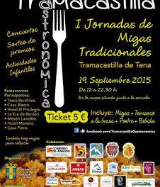 TRAMACASTILLA DE TENA. I Jornada de Migas Tradicionales (sábado, 19)