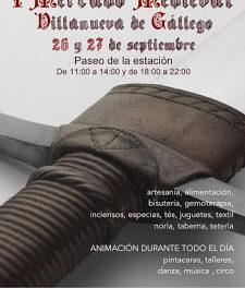 VILLANUEVA DE GÁLLEGO. Mercado medieval (días 26 y 27)