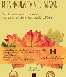 JACA. Jornada gastronómica con La Torres (días 9 y 10)