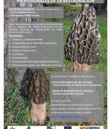 PUERTOMINGALVO / SARRIÓN. Taller de conservación de setas para profesionales (días 19 y 20)