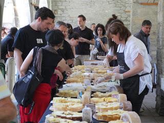 BIESCAS. Concurso de quesos de la feria de otoño (sábado, 17)
