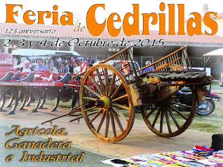 CEDRILLAS. Feria agrícola, ganadera e industrial (del 2 al 4 de octubre)