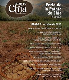 CHÍA. Feria de la patata (sábado, 31)