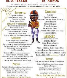 Menú del día (arroz y de la tierra) en LOS CABEZUDOS (hasta fin de año)
