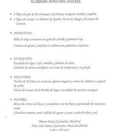 HUESCA. Cena maridada (jueves, 8)