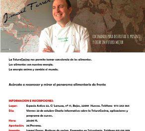 HUESCA. Charla informativa sobre la telurococina (viernes, 23)