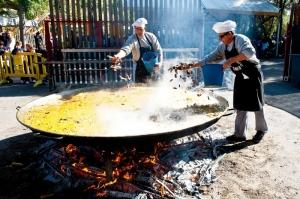 Paella popular con arroz BRAZAL (miércoles, 14)