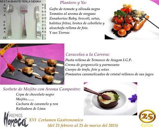 ARAGÓN CON GUSTO. Demostración de cocina  (martes, 3)