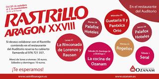 Rastrillo Aragón (hasta el 2 de noviembre)