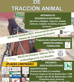 HUESCA. I Encuentro Nacional de Tracción Animal (días 30 y 31)