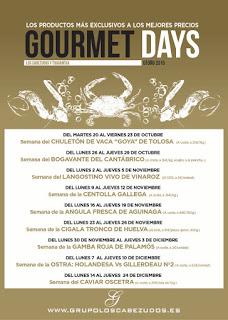 Gourmets Days en LOS CABEZUDOS y TRAGANTÚA, bogavante del Cantábrico (del lunes, 26, al jueves, 29)
