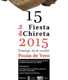 POZÁN DE VERO. Fiesta de la chireta (domigo, 25)