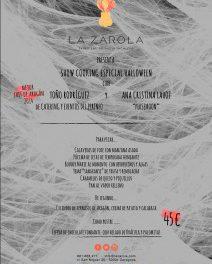 'Show cooking' de Halloween en LA ZAROLA (sábado, 31)