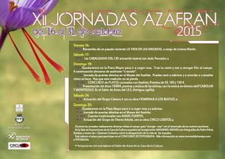 MONREAL DEL CAMPO. Jornadas del azafrán (días 24 y 25)