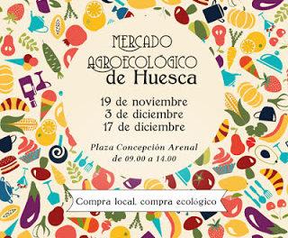 HUESCA. Mercado agroecológico (jueves, 19)